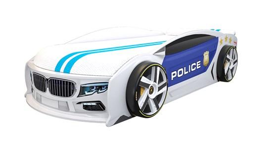 Кровать машина Манго Полиция - фото 10257