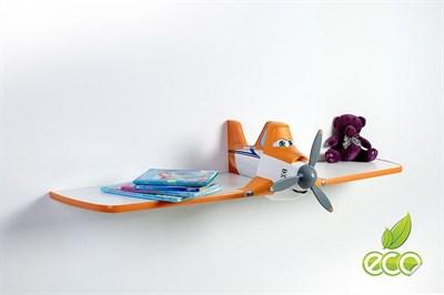 Полка самолет Дасти 1 - фото 6044