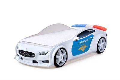 3D кровать машина EVO  Полиция - фото 6968