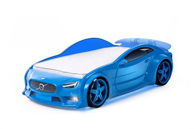 3D кровать машина EVO Вольво - фото 7153