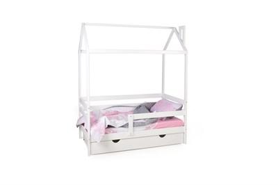 Кровать-домик Scandi Nest с бортиком - фото 8180