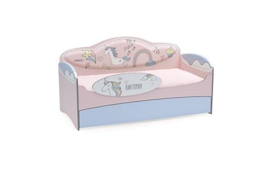 Диван-кровать для девочек Mia Unicorn - фото 8859