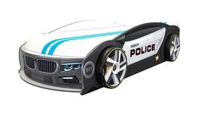 Кровать машина Манго Полиция - фото 10260