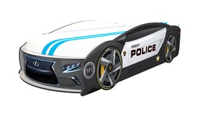 Кровать машина Манго Полиция - фото 10261