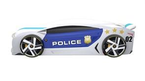 Кровать машина Манго Полиция - фото 10264