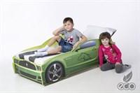 Кровать машина Мустанг - фото 5533
