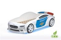 3D кровать машина EVO  Полиция - фото 5706