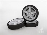 Объемные пластиковые колеса