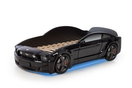 Кровать машина Мустанг 3D - фото 6523