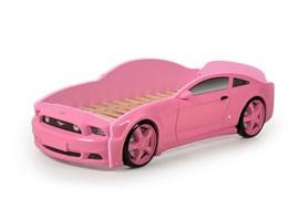 Кровать машина Мустанг 3D - фото 6526