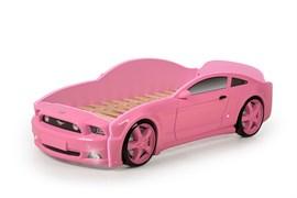 Кровать машина Мустанг 3D - фото 6527