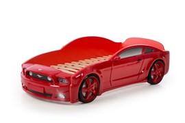 Кровать машина Мустанг 3D - фото 6528