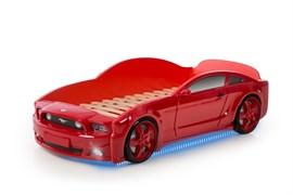 Кровать машина Мустанг 3D - фото 6529