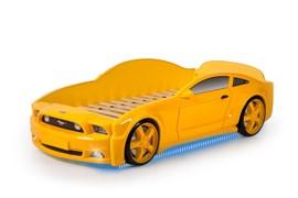 Кровать машина Мустанг 3D - фото 6531