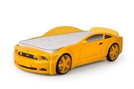 Кровать машина Мустанг 3D - фото 6532