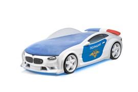 Кровать машина NEO Полиция - фото 6641
