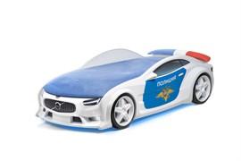 Кровать машина NEO Полиция - фото 6644