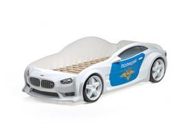 3D кровать машина EVO  Полиция - фото 6965
