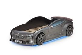 3D кровать машина EVO  Графит - фото 6988