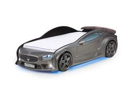 3D кровать машина EVO  Графит - фото 6990