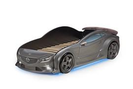 3D кровать машина EVO  Графит - фото 6991