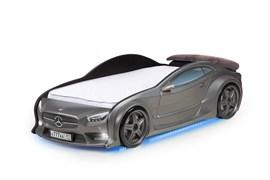 3D кровать машина EVO  Графит - фото 6992