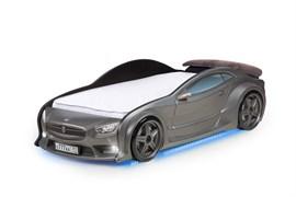 3D кровать машина EVO  Графит - фото 6993