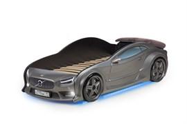 3D кровать машина EVO  Графит - фото 6994