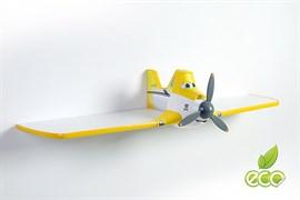 Полка самолет Дасти 1 - фото 7492
