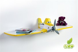 Полка самолет Дасти 1 - фото 7493