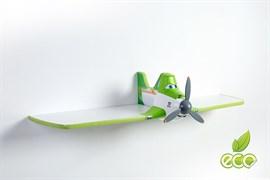 Полка самолет Дасти 1 - фото 7494