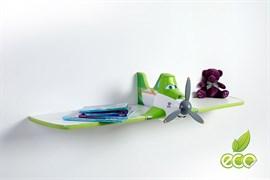Полка самолет Дасти 1 - фото 7495
