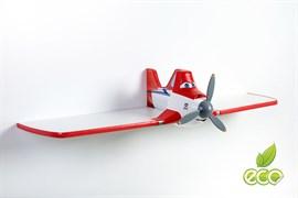 Полка самолет Дасти 1 - фото 7496