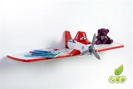 Полка самолет Дасти 1 - фото 7497