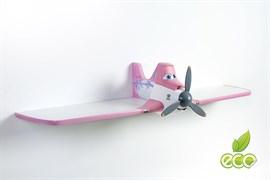 Полка самолет Дасти 1 - фото 7498