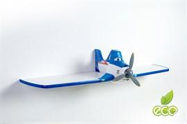 Полка самолет Дасти 1 - фото 7500
