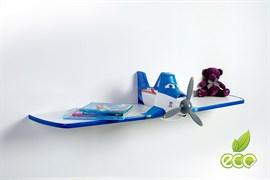 Полка самолет Дасти 1 - фото 7501