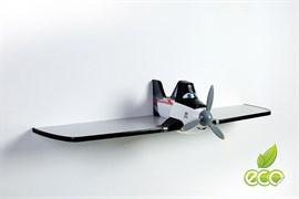 Полка самолет Дасти 1 - фото 7502