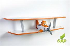 Полка самолет Дасти 2 - фото 7509