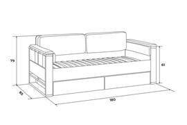 Диван-кровать Level - фото 7831