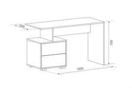 Письменный стол Level - фото 8066