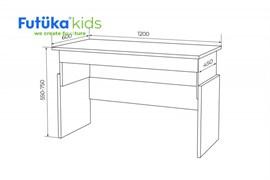Детский растущий стол Q-bix 02 - фото 8112