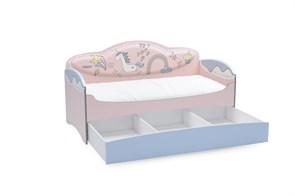 Диван-кровать для девочек Mia Unicorn - фото 8857