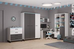 Коллекция детской мебели Carbon White