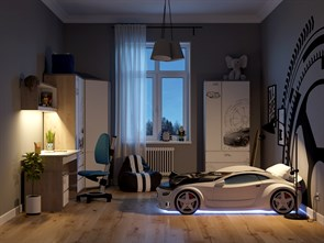 Кровать машина NEO Ауди - фото 9707